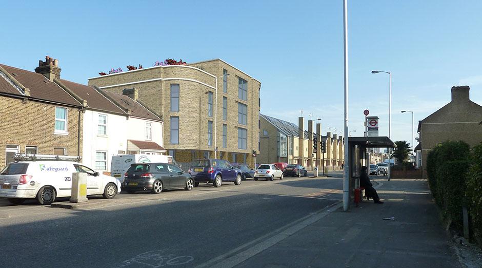 Moss Architecture 148 Mitcham Road Croydon Cr0 3je