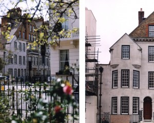 Cheshire House and Eaton Square, London
